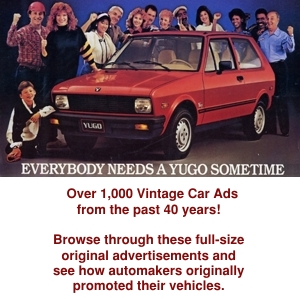 Vintage Car Ads from productioncars.com